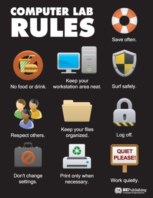 computer-lab-rules